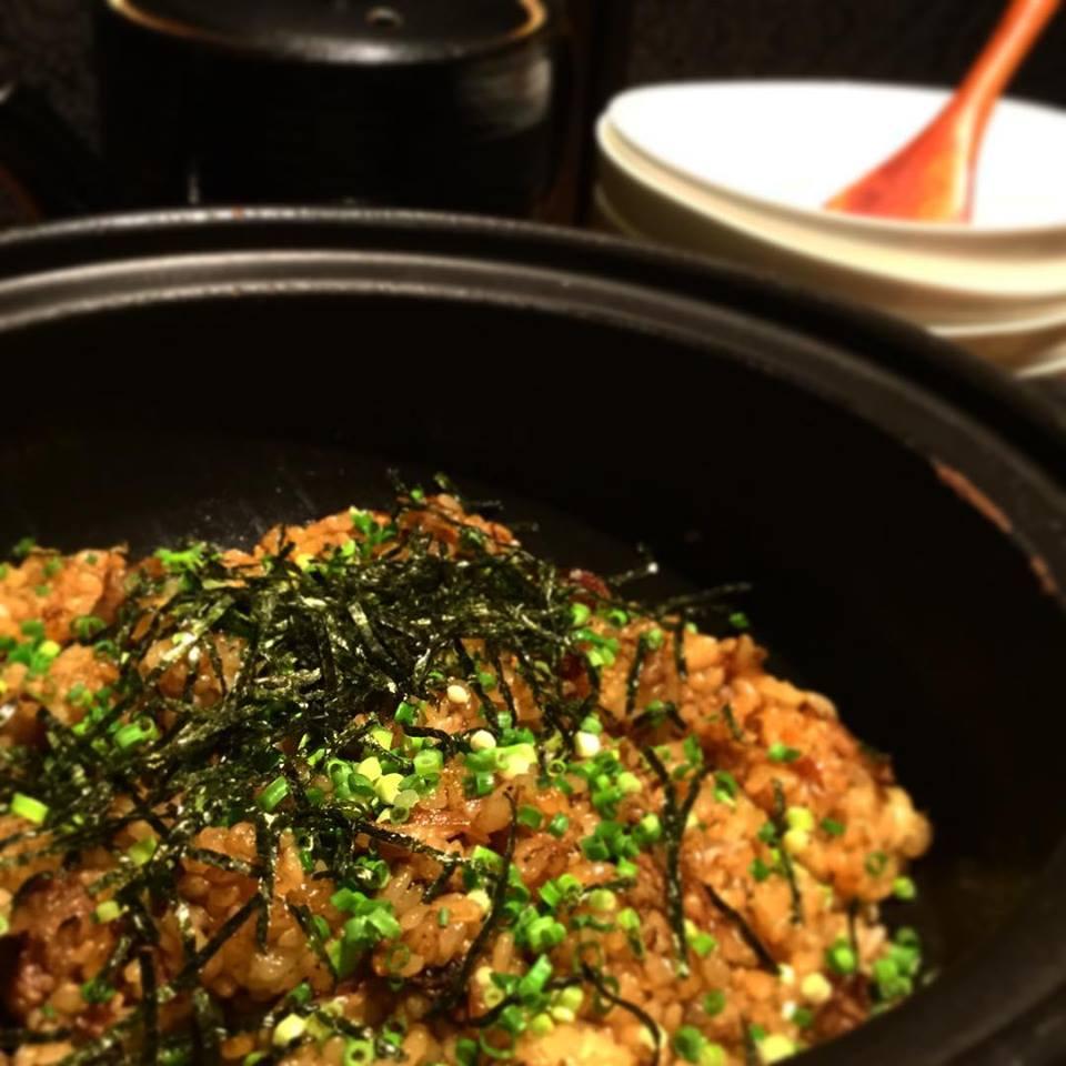 牛肉の土鍋飯
