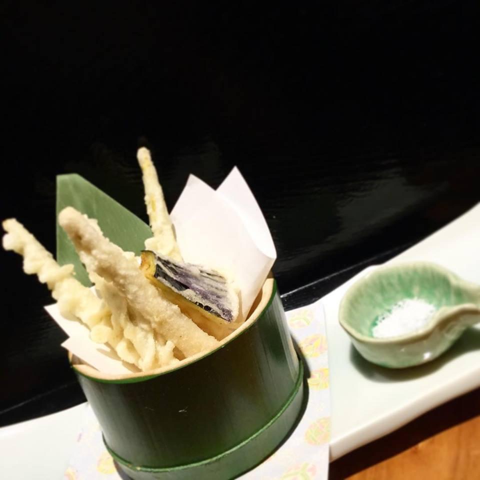 姫筍の天ぷら