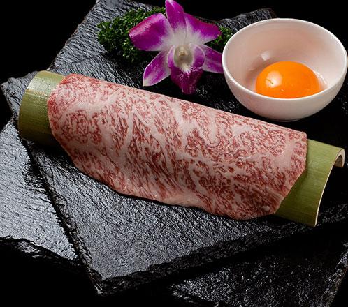 平井牛 特選リブロースのすき焼き風焼肉