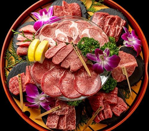【御予約限定】全て黒毛和牛の10種類食べ比べセット(お1人様¥3,680)