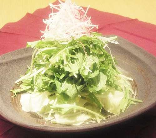 たっぷり生野菜サラダ
