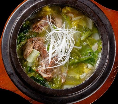白テールスープ(塩味)