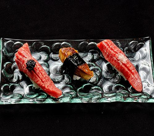 フォアグラの握り寿司