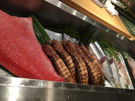 3キロの金目鯛、デッカいシャコ