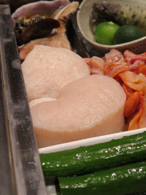 愛知県産の どらでかい平貝