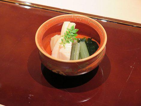 鹿児島県産のタケノコ、若竹煮