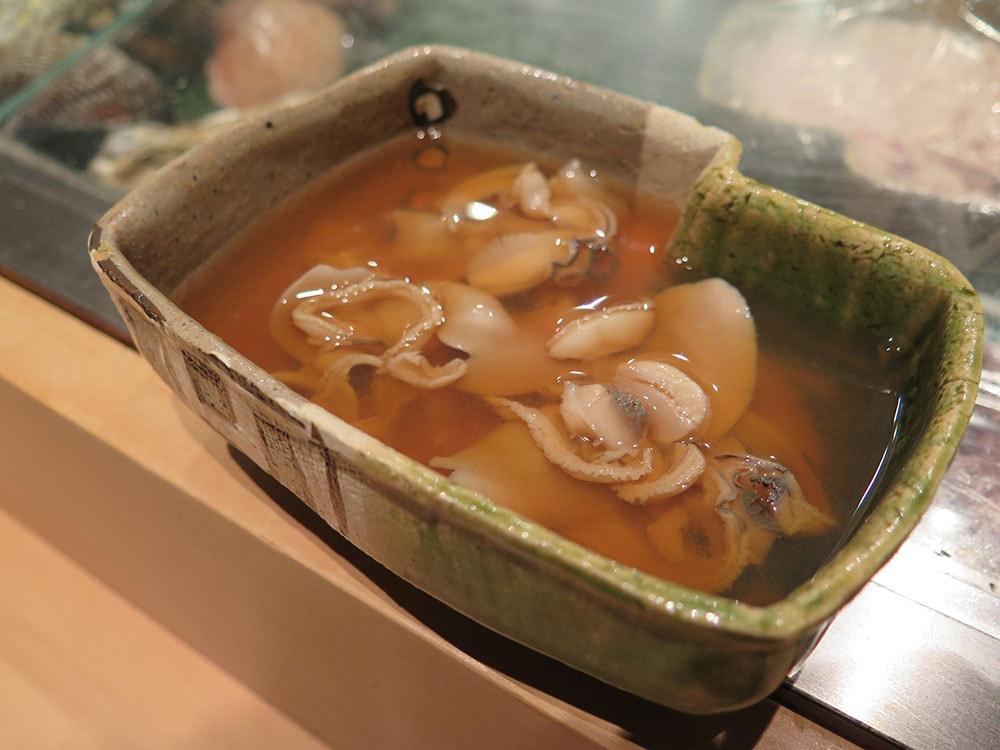 煮ハマグリ