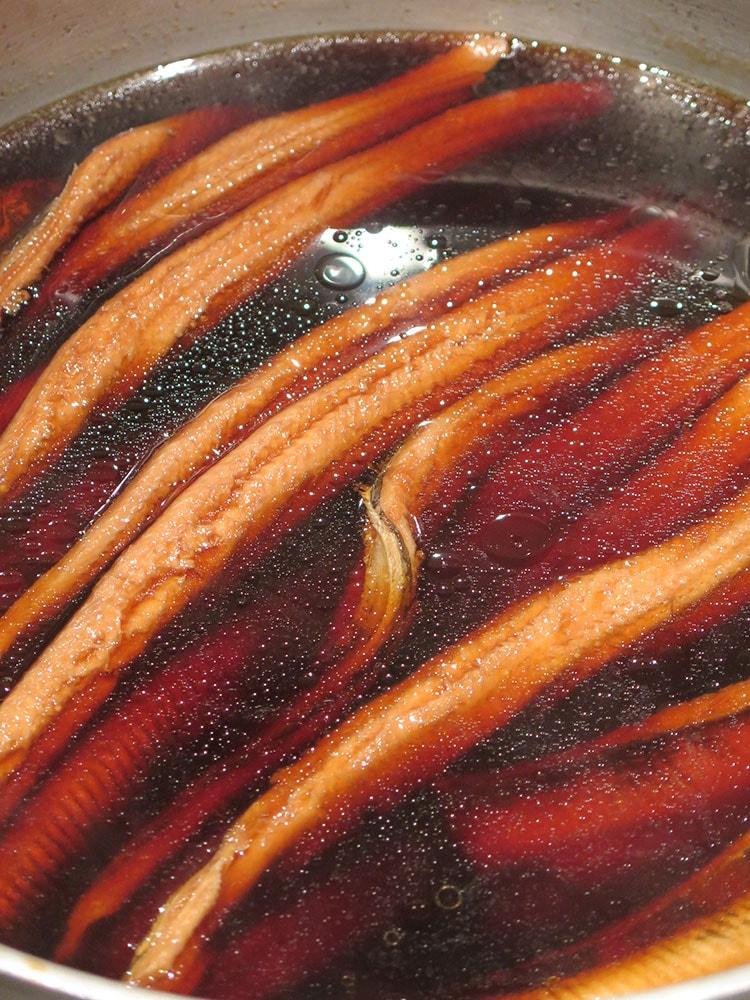 愛知県産の煮アナゴ